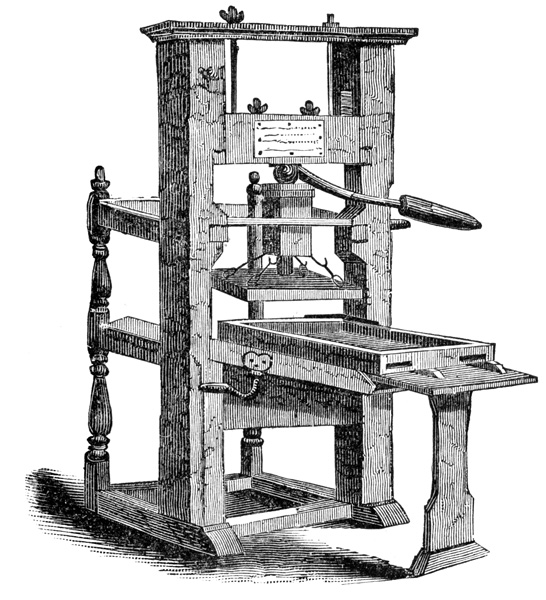 1450 the printing press missing the forest for the tree a